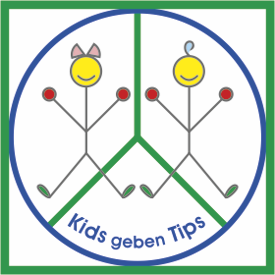 Logo Kids geben Tips